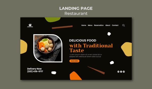 website for restaurant business
